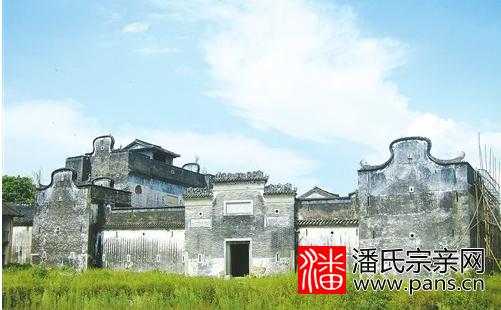 新丰梅坑镇大岭村儒林第:潘氏老宅百年兴衰史